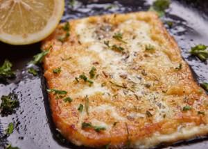 Flaming Cheese Dish